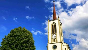L'église de Treyvaux